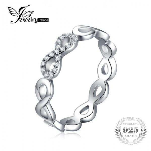 Jahrestag Ehering für Frauen 925er Sterling Silber